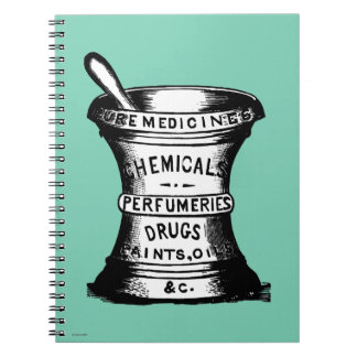 Mortar And Pestle Notebook