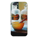 Mortar and Pestle With Bottles Cover For iPhone 5