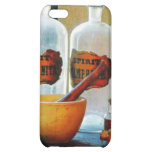 Mortar And Pestle With Bottles iPhone 5C Cases