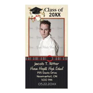 Mortar & Diploma - Customize Picture Card