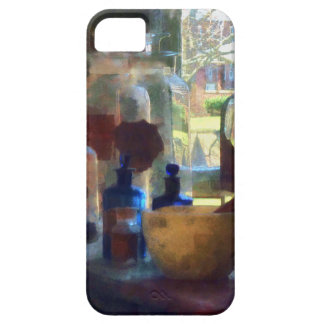 Mortar, Pestle and Bottles by Window iPhone 5 Case