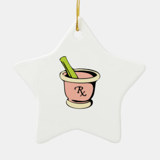 Mortar Pestle Christmas Ornament