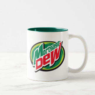 Mortgage Dew Two-Tone Coffee Mug