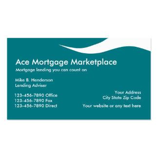 Mortgage Lender Business Cards