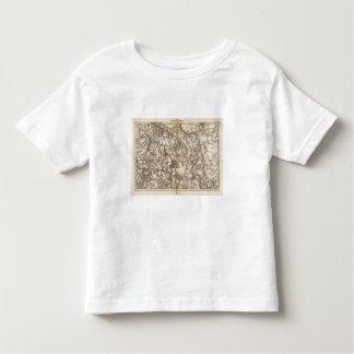 Morvan Atlas Map Toddler T-Shirt