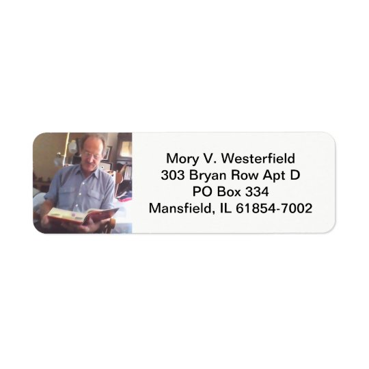 Mory V. Westerfield return address labels