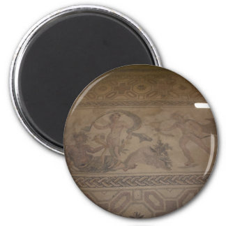 mosaic 6 6 cm round magnet
