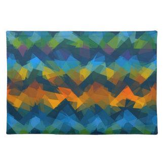 Mosaic Abstract Art #25 Place Mat