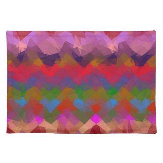 Mosaic Abstract Art #27 Place Mat