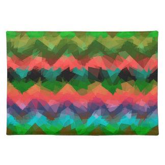 Mosaic Abstract Art Placemats
