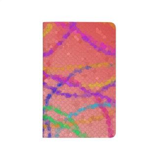 Mosaic Abstract Pocket Notebook