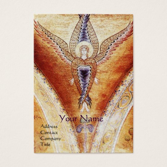 MOSAIC ANGEL Monogram Business Card