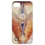 MOSAIC ANGEL  MONOGRAM iPhone 5 CASE