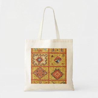 mosaic arab decoration architecture morocco islam budget tote bag