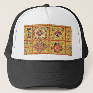 mosaic arab decoration architecture morocco islam trucker hat
