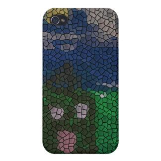 Mosaic art iPhone 4 cover