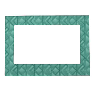 Mosaic Background Magnetic Picture Frame