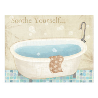 Mosaic Bath Postcard