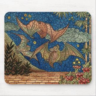 Mosaic Bats Mousepad