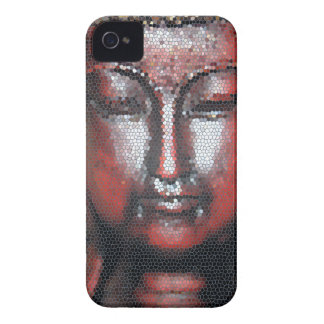 Mosaic Buddha iPhone 4 Case-Mate Cases