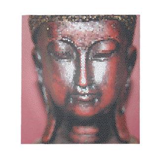 Mosaic Buddha Notepad