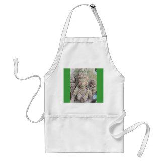 Mosaic  buddha statue standard apron