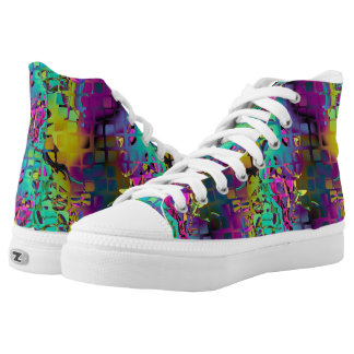 MOSAIC CHAOS MULTICOLOR HIGH TOPS