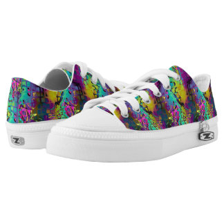 MOSAIC CHAOS MULTICOLOR PRINTED SHOES