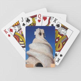 Mosaic chimney poker deck