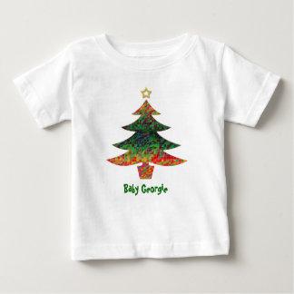 Mosaic Christmas Tree Baby T-Shirt