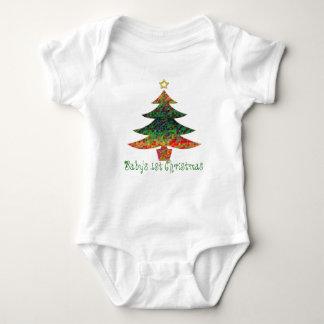 Mosaic Christmas Tree T-shirts