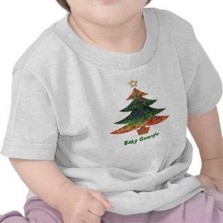 Mosaic Christmas Tree Tshirts