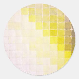 Mosaic Classic Round Sticker