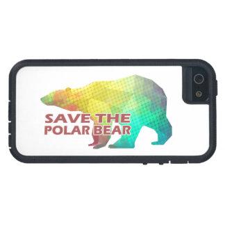 MOSAIC COLOR POLAR BEAR(SAVE THE POLAR BEAR) CASE FOR iPhone 5