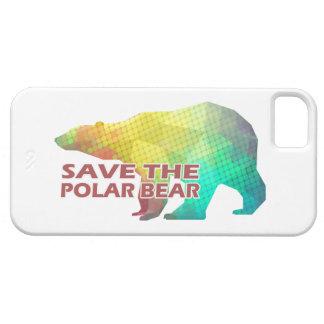 MOSAIC COLOR POLAR BEAR(SAVE THE POLAR BEAR) iPhone 5 COVER