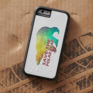 MOSAIC COLOR POLAR BEAR(SAVE THE POLAR BEAR) TOUGH XTREME iPhone 6 CASE