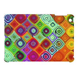 Mosaic Colorful Abstract Art iPad Mini Cover