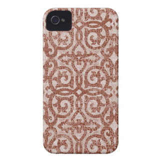 Mosaic Crest iPhone 4/4S Barely There iPhone 4 Case-Mate Cases