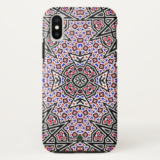Mosaic Cross iPhone X Case