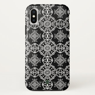 Mosaic Cross Wallpaper iPhone X Case