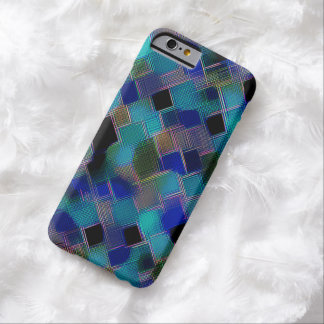 Mosaic Crosshatch Design Barely There iPhone 6 Case