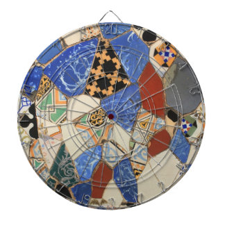 Mosaic decoration dart boards