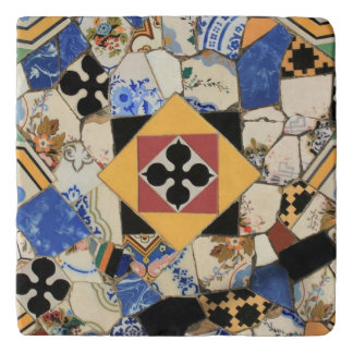 Mosaic decoration trivet