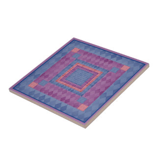 Mosaic Diamonds Tile