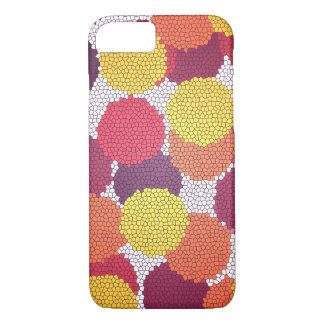 Mosaic Dots iPhone Case