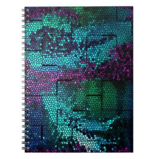 Mosaic Dragon Skin Notebooks