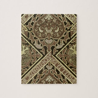 Mosaic ecclesiastical wallpaper design jigsaw puzzle