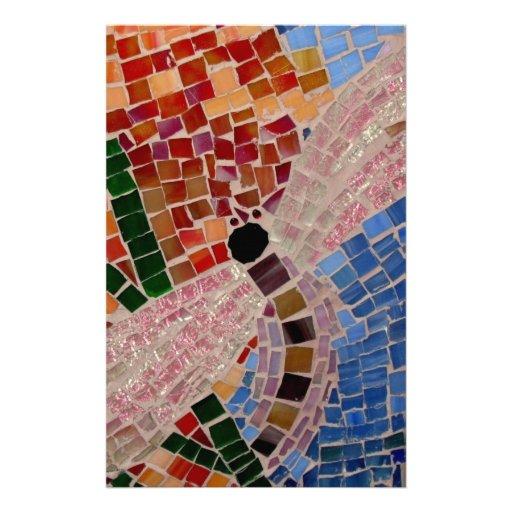 Mosaic Firefly Custom Stationery