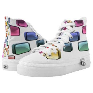 Mosaic Footwear Printed Shoes