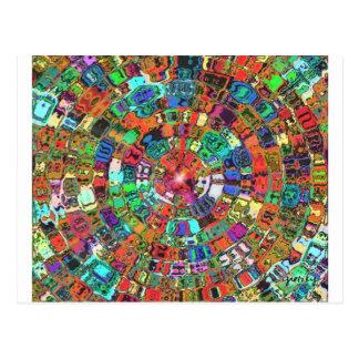 Mosaic Gems Postcard